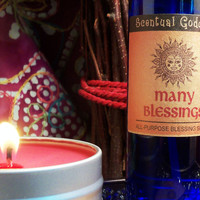 MANY BLESSINGS SET Home Blessing for Abundance Love Joy Wealth Health Happiness Friendship