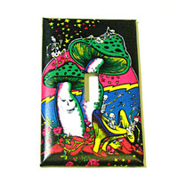 Light Switch Cover - Light Switch Grateful Dead psychedelic mushrooms