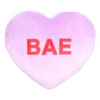 Valentine's Bae Heart Pillow