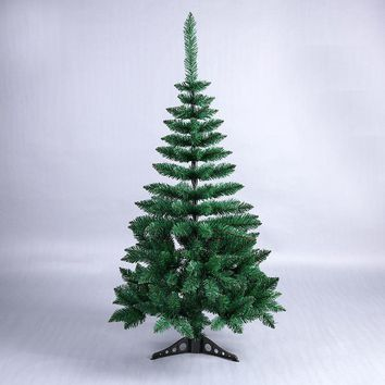 120cm Mini Artificial Green Pointy Christmas Tree Small Xmas Tree New Year Home Ornaments Desktop Decorations Christmas Tree