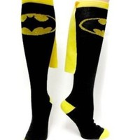Batman Superhero Black Cape Sock
