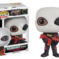 Funko POP Movies: Suicide Squad Action Figure, Deadshot (Masked)