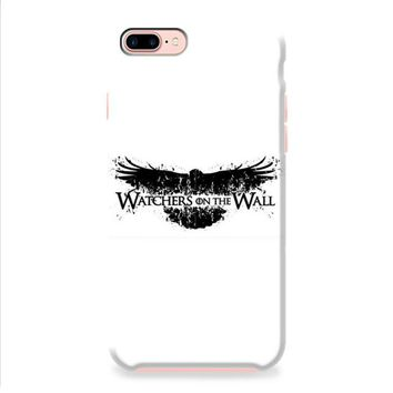 Game Of Thrones Watchers On The Wall Typo iPhone 8   iPhone 8 Plus Case