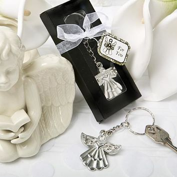 Souvenir Guardian Angel Key Ring