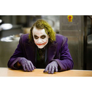 The Joker Dark Knight Movie Man With The Plan Gallery Print