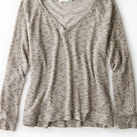 AEO Women's Feather Light V-neck Sweater