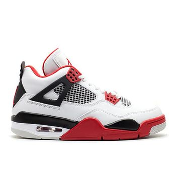 "Air Jordan 4 ""Fire Red 2012 Release"""