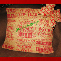 20% OFF Today Christmas Pillow Cover 16x20 Christmas Pillow Christmas Throw Pillow Cover*Christmas Lumbar Pillow*Holiday Pillow