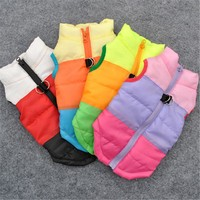 Winter Warm Jacket Pet Dog Cothes Windproof Coat Dogs Snowsuit Vest Harness Dog Puppy Pet Clothing New