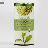 The Republic of Tea Double Green Matcha Tea, 50-Count - World Market