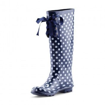C. Wonder | Lace-Up Rainboots