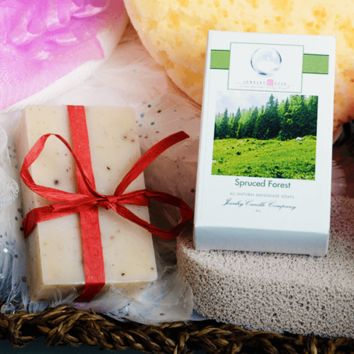 Spruced Forest Jewelry Soap (Comes with Jewel!)