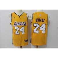 LA Lakers 24 Kobe Bryant Swingman Jersey