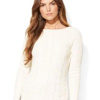 Lauren Ralph Lauren Cable Knit Rollneck Sweater