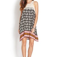 Elephant Frenzy Shift Dress
