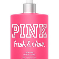 Victoria's Secret PINK Fresh & Clean Body Lotion 16.9 oz (500 ML) (New Packaging)