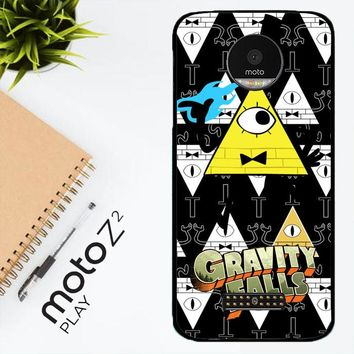 Gravity Falls Bill Cipher W3347 Motorola Moto Z2 Play Case