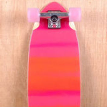 "Globe Prebuilt 33"" Chromantic Fluoro Orange Longboard Complete"