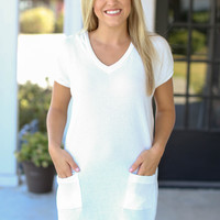 At Ease Tunic - White