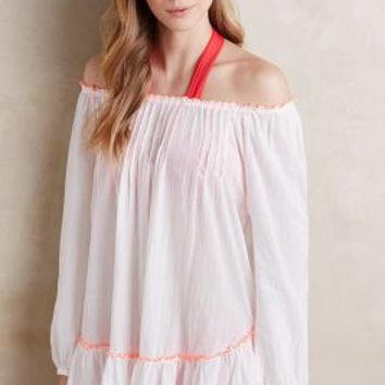 Basta Surf Bahia Off-The-Shoulder Tunic in White Size: