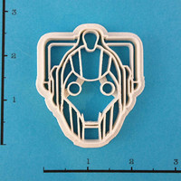Dr Who Cyberman Cookie Cutter
