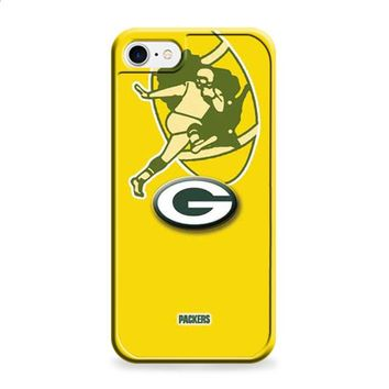 Green Bay Packers logos on yellow iPhone 6 Plus | iPhone 6S Plus case