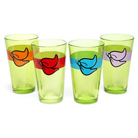 TMNT Minimalist Pint Glass Set