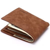 Men PU Leather Wallet [8830604163]