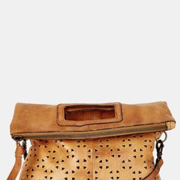 Topshop Perforated Leather Crossbody Bag 9