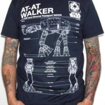 Star Wars T-Shirt - Walker Blueprint