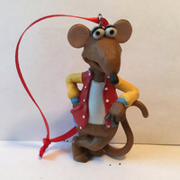 Muppets Christmas Tree Ornament - Rizzo  the rat