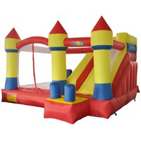 inflatable Bounce House Combo Slide Castle