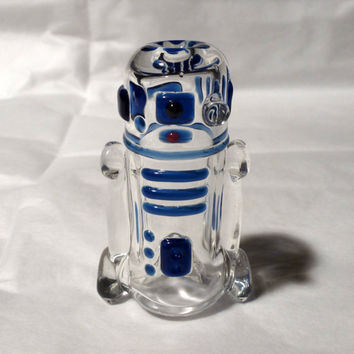 Glass R2D2 Art Pipe