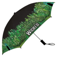 Wicked the Broadway Musical - Emerald City Umbrella