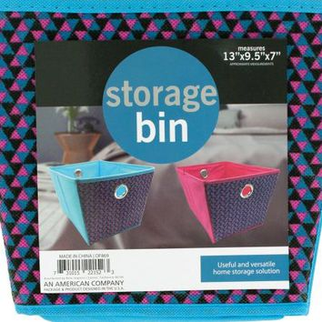 Cloth Storage Bin with Handles