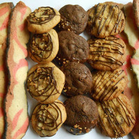 The Ultimate Father's Day Gift- Bacon Cookie Assortment- Best Father's Day Gift EVER- Bacon, Chocolate and Peanut Butter Cookies- Manly Gift