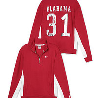 University Of Alabama Boyfriend Half-Zip - PINK - Victoria's Secret