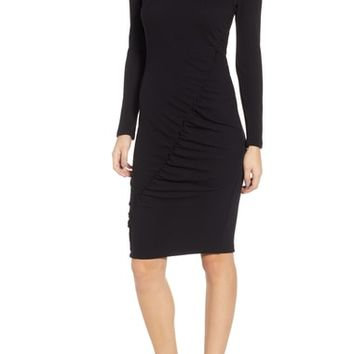 Splendid Sylvie Ruched Ribbed Dress | Nordstrom