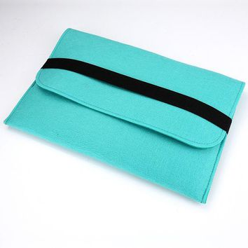New arrival Wool felt Sleeve Cover for Apple Macbook Air size 111315