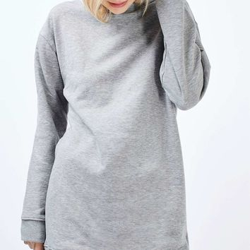 Throw On Sweat Tunic | Topshop