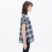 OVERSIZED TEE IN EMPORIA PLAID