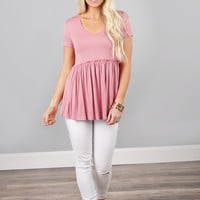 Perfect 10 Peplum Top