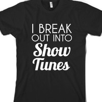 Black T-Shirt | Funny Musicals Shirts