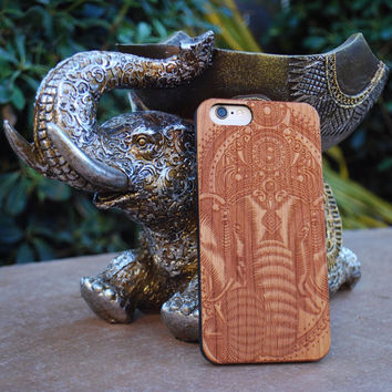 Custom Engraved Ganesha iPhone 6 Plus Case