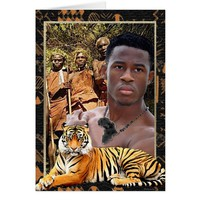 Young Warrior Card
