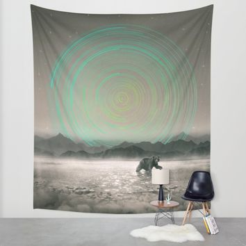 Spinning Out of Nothingness Wall Tapestry by Soaring Anchor Designs   Society6