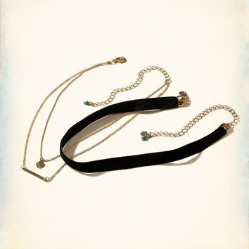 Girls Choker Mix 2-Pack | Girls Shoes & Accessories | HollisterCo.com
