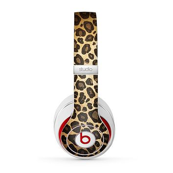 The Vibrant Leopard Print V23 Skin for the Beats by Dre Studio (2013+ Version) Headphones