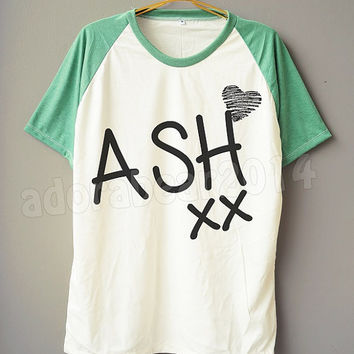Ashton Irwin T-Shirt 5 Second Of Summer T-Shirt 5Sos Shirt Short Sleeve Short Baseball Shirt Jersey Unisex T-Shirt Women T-Shirt Men T-Shirt