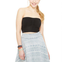 Aztec Denim Circle Skirt